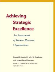 Achieving Strategic Excellence book cover