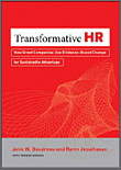 Transformative HR book cover